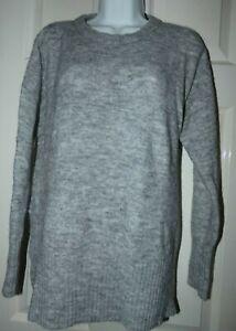 H&M DIVIDED SIZE Medium grey alpaca wool  blend jumper