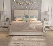 Bett Polster Design Luxus Hotel Betten Ehe 180x200cm Schlaf Zimmer Leder Doppel