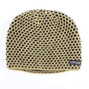 Nixon 2 Tone Popcorn Beanie Hat Khaki Navy B34727