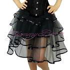Skirt Fancy Dress Burlesque Women Frilly Tulle Long Tutu Costume Plus Size 6-28