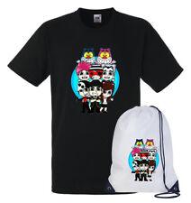 T-shirt Maglietta + Sacca TEAM WGF Lyon Youtuber vers.3 - WhenGamersFail - WGF -