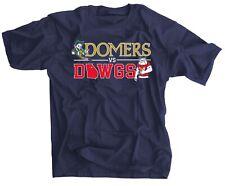Domers vs Dawgs Blue Shirt Notre Dame vs Georgia Football Rivalry Tee