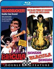 BLACULA + SCREAM BLACULA SCREAM New Sealed Blu-ray Double Feature
