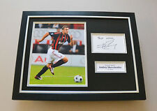 Andriy Shevchenko Signed Framed 16x12 Photo AC Milan Autograph Display + COA