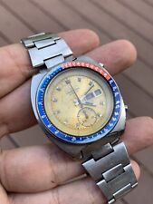Vintage Seiko Chronograph Automatic 6139-6002 POGUE Yellow
