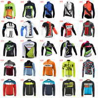 2020 Cycling Long Sleeve Jersey Bike Shirt Men Bicycle Tops Outdoor Sportswear