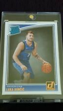 2018-19 Donruss Luka Doncic RC Rated Rookie Card #177
