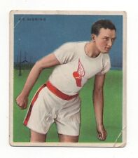 Harry Gissing 1910 T218 Mecca Cigarettes Champion Boxing Card