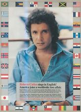 "(SFBK4) POSTER/ADVERT 14X11"" ROBERTO CARLOS ON COLUMBIA RECORDS"