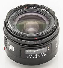 Minolta AF 24mm 24 mm 1:2.8(22) 2.8 (22) für Dynax 5D 7D Sony A DSLR