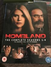 Homeland - Season 1-4 [2011] (DVD)