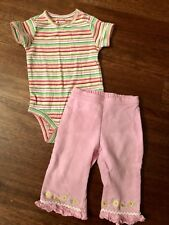 Gap Gymboree 6-12 Months Baby Girl Toddler cotton outfit