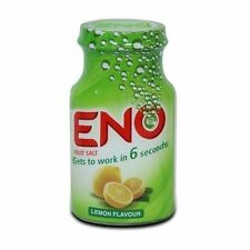 Eno Fruit Salt Lemon Flavor 100gm For Indigestion Gas Nausea Bloating Acidity