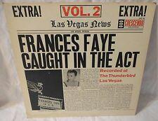 Signed FRANCES FAYE CAUGHT IN THE ACT VOL 2 Crescendo GNP 92 vinyl VG+ Las Vegas