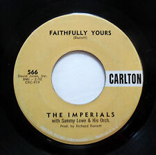 IMPERIALS 45 Faithfully yours / Vut Vut CARLTON   Doowop Dm741