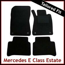 Tailored Carpet Floor Mats for MERCEDES E-Class Estate 2002-209 BLACK