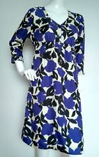 BODEN Easygoing silk floral dress size 14L --USED ONCE-- 100% Silk  knee length