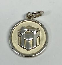 Tiffany & Co Sterling Silver Lexicon Gift Box Charm c.2012