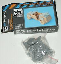 VW Kübelwagen Accessories Set von Blackdog in 1/35