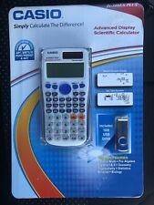 Casio FX-300ES Plus Advanced Display Scientific Calculator w/ 1gb USB Drive