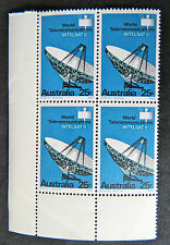 1968 Australian Stamps - World Satellite Communications Set of 4 with Tabs MNH