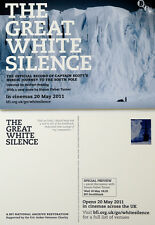 THE GREAT WHITE SILENCE FILM POSTCARDS  X 2 - CAPTAIN SCOTT SOUTH POLE