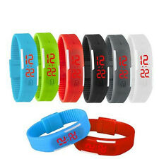 Male and female leisure fashion sports fluorescent electronic watch