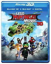 LEGO Ninjago Movie 3D 3D (used) Blu-ray * Only Disc Read Details