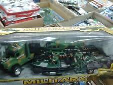 Set militari canoa mezzi e soldati Kit gioco di qualità giocattolo toy leo a75