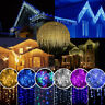 LED Icicle Curtain String Lights Lamps Christmas Wedding Party Indoor Outdoor