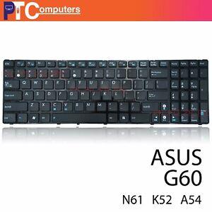 Laptop Keyboard For ASUS G60 K52/U50/F50/X52/X52N/X52DE/X52J/X53E US Layout