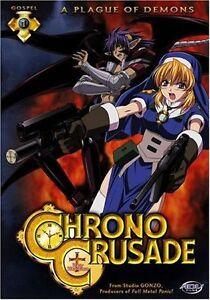Chrono Crusade DVD-Madman Anime R4-Tomoko Kawakami -Episodes 1-4