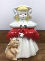 Antique McCoy Goldilocks Cookie Jar 12.5 Inches