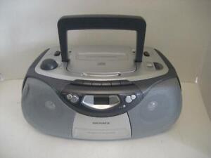 "Magnavox MCS200SL AM/FM Radio ""CD"" Cassette Tape Stereo Boombox ""Ghetto Blaster"""