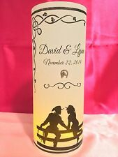 10 Personalized Country Western Wedding Luminaries Table Centerpieces Decor #2