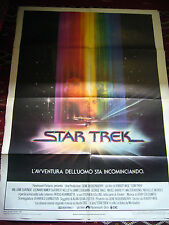 STAR TREK  1a EDIZIONE ITALIANA  1980  MANIFESTO  1,40 X 1,00 M.