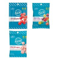 NICE!^ (1) 4.5 oz Bag SUGAR FREE Hard Candies CANDY New! *YOU CHOOSE* Exp. 4/22+