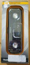 Creative Travelsound Zen Stone stereo portable speaker black NEW SEALED