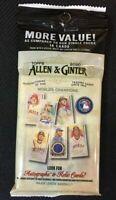 2020 Topps Allen & Ginter Sealed More Value Pack Baseball Cello Pack Sealed