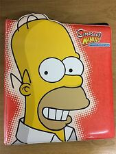 The Simpsons Mania Official Inkworks Binder