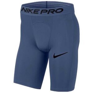 Nike Pro Men's Long Compression Training Shorts  BV5637 469 Blue