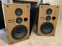 Pair of Vintage Pioneer Speakers, Model CS-G204 - Working Perfect, Sound Great!