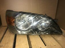 99-05 Lexus is200 HEADLIGHT RIGHT OS EXCELLENT LENS BUT CRACKED HOUSING & FIXING