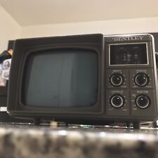 Vintage Bentley Portable Black And White TV 1992