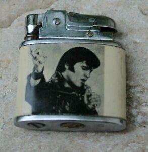ancien briquet trabi décor Elvis presley