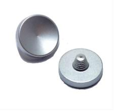 Plata Metal de liberación del obturador botón cóncavo Fuji XT2 X20 X100 Leica M6 M7 M8 M9