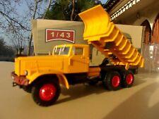 n° 85 KRAZ 256 Camion à benne basculante CAMIONS D'AUTREFOIS 1/43 Neuf en bpoite
