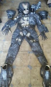 Full Jungle Hunter Predator Alien Latex Costume Suit - FREE SHIPPING US/CANADA