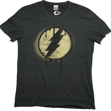 The Flash, Distressed Logo DC Comics T Shirt Size:L - NEW & OFFICAL