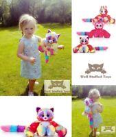 Keel Toys Hugg'ems Sloth Unicorn Fox Soft Toy Plush Christmas Best Selling Gift
